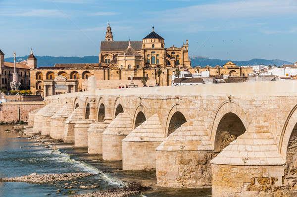 мечети мнение известный римской моста Сток-фото © 1Tomm