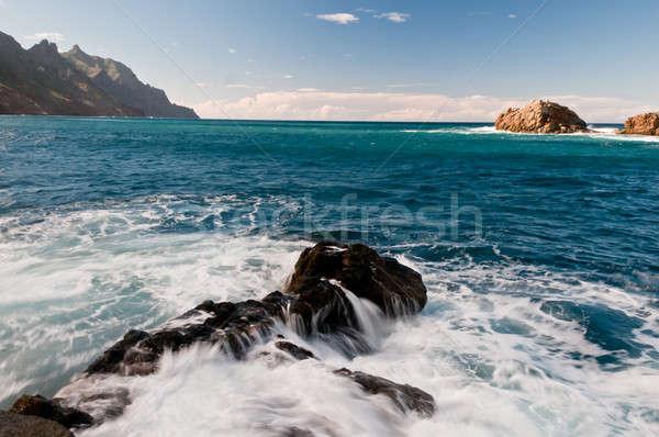 пород океана фотография воды природы путешествия Сток-фото © 1Tomm