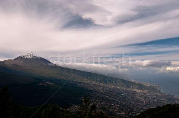 Тенерифе мнение морем уровень вверх Сток-фото © 1Tomm
