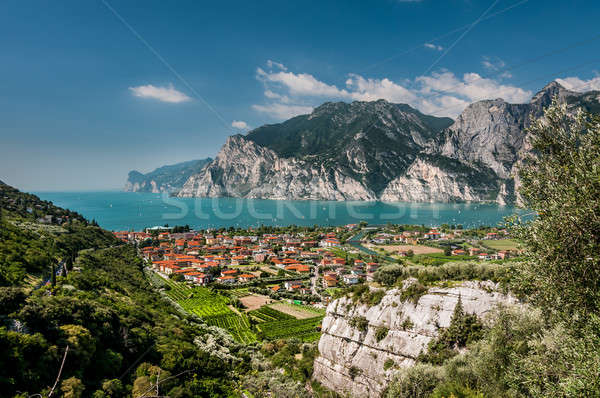 Garda Lake (Lago di Garda). Stock photo © 1Tomm