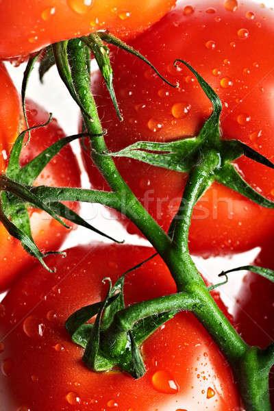 ripe tomato Stock photo © 26kot
