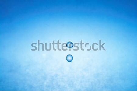 water drop (image 2 of 51, I have all phases of falling drop) Stock photo © 26kot