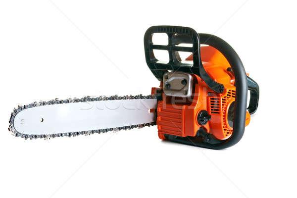 бензопила профессиональных бензин цепь увидела инструменты Сток-фото © 26kot