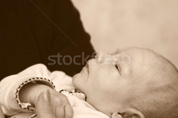 ребенка мама контроль семьи любви Сток-фото © 26kot