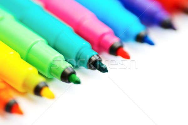 colour pen Stock photo © 26kot