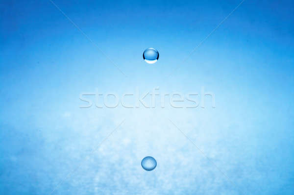 water drop (image 3 of 51, I have all phases of falling drop) Stock photo © 26kot