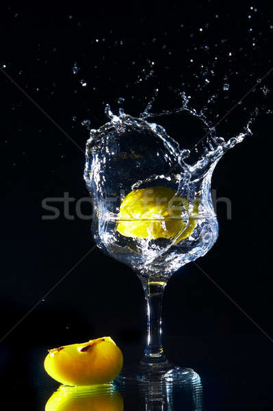 goblet and fruits Stock photo © 26kot