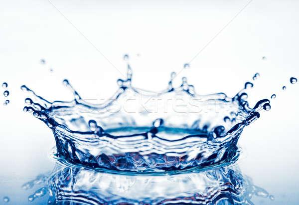 corona from splash of  water Stock photo © 26kot