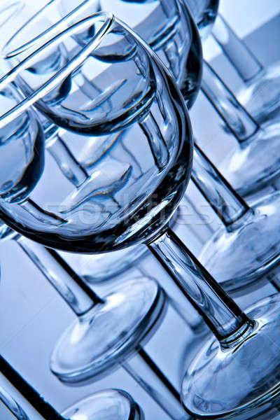 glass goblets Stock photo © 26kot