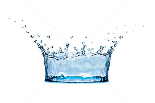 corona from of water Stock photo © 26kot