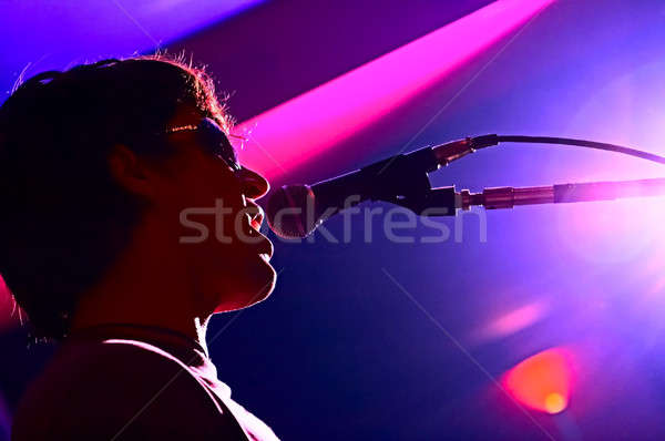 singer Stock photo © 26kot