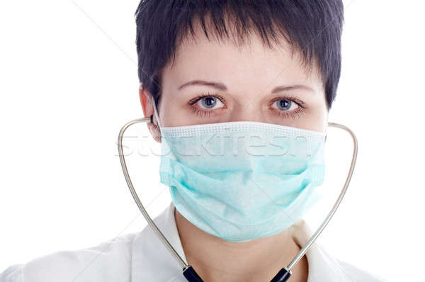 woman in mask Stock photo © 26kot