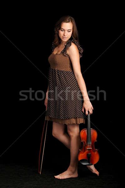 violinist Stock photo © 26kot