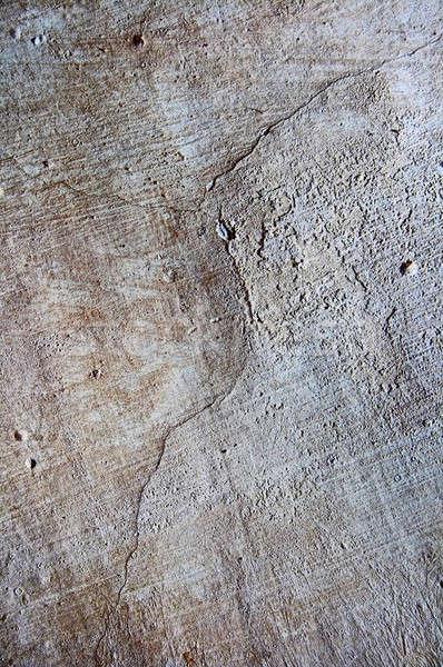 Darab fal szürke beton épület építkezés Stock fotó © 26kot