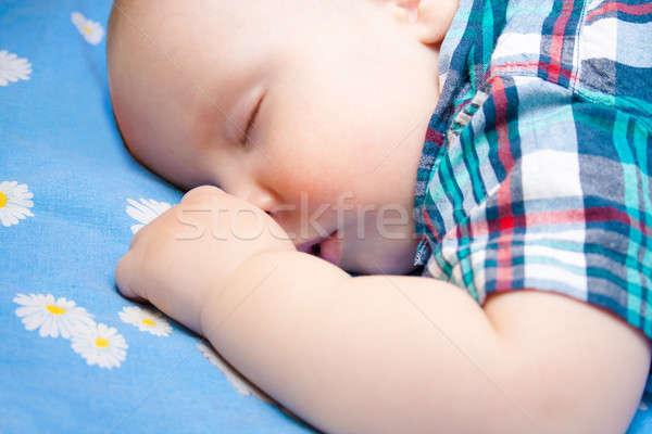 Сток-фото: счастливым · ребенка · спальный · семьи · стороны