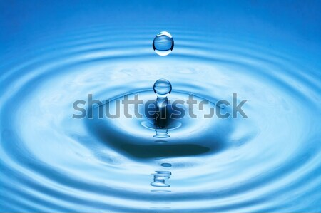 water drop (image 30 of 51, I have all phases of falling drop) Stock photo © 26kot