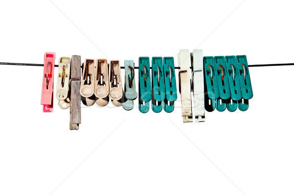 clothes-peg Stock photo © 26kot
