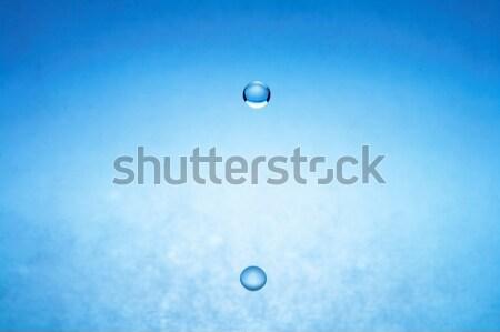 Foto stock: Gota · de · agua · imagen · todo · caer · caída · agua