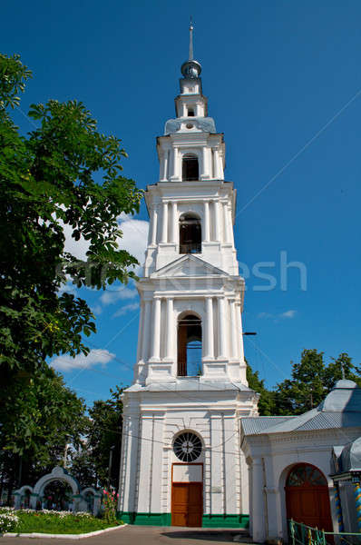 belfry of Troitsko-Uspensky cathedral Stock photo © 26kot