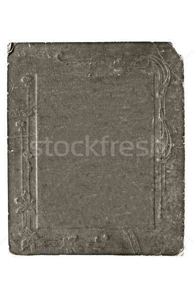 cardboard frame Stock photo © 26kot