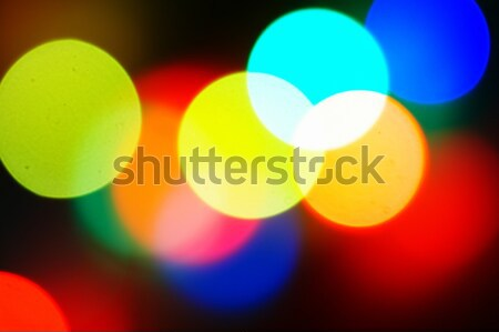 Brillante color luz resumen belleza Foto stock © 26kot