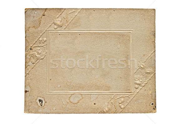 old-time sheet Stock photo © 26kot