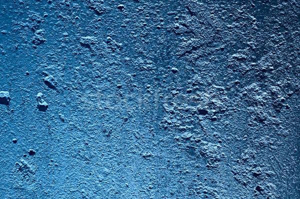 Parede concreto azul cor casa Foto stock © 26kot