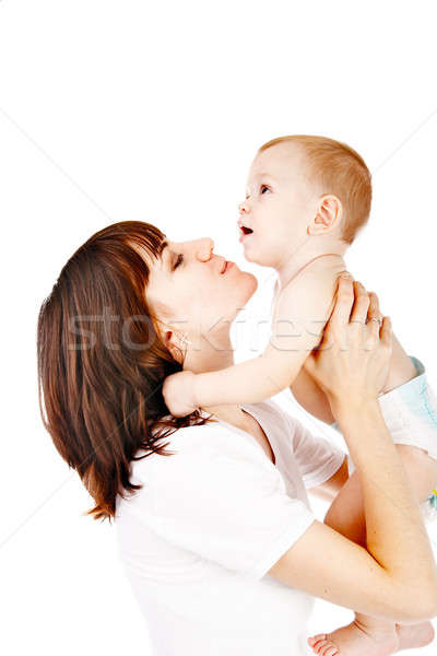 baby with mother Stock photo © 26kot