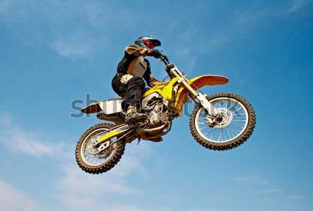 motorcyclist Stock photo © 26kot