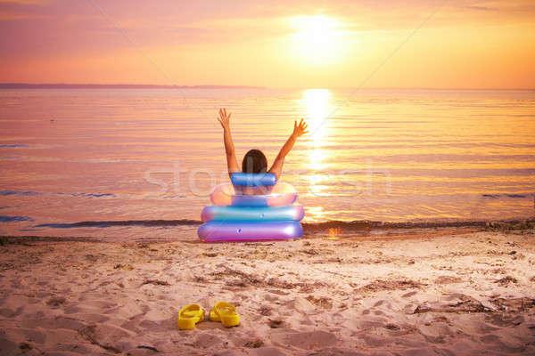 sunbathing Stock photo © 26kot