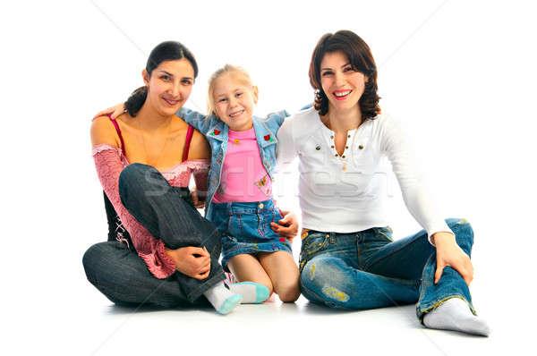 lucky family Stock photo © 26kot