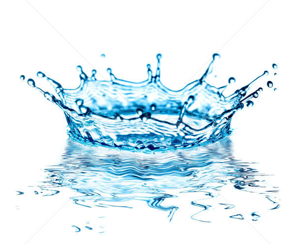 Stock photo: water splash