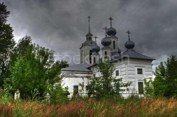 Церкви святой предположение небе облака крест Сток-фото © 26kot