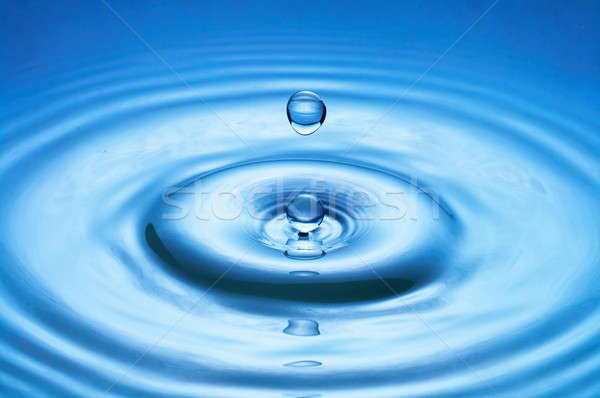 water drop (image 32 of 51, I have all phases of falling drop) Stock photo © 26kot