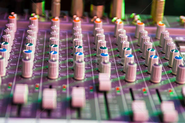 оборудование запись звук технологий дискотеку клуба Сток-фото © 26kot
