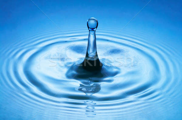 water drop (image 25 of 51, I have all phases of falling drop) Stock photo © 26kot
