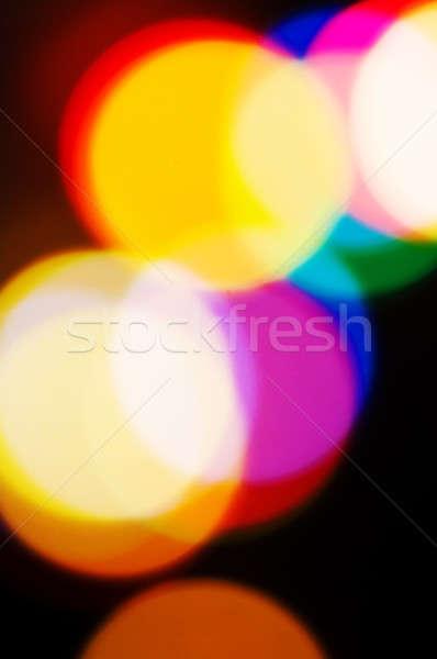 świetle streszczenie obraz projektu zielone niebieski Zdjęcia stock © 26kot