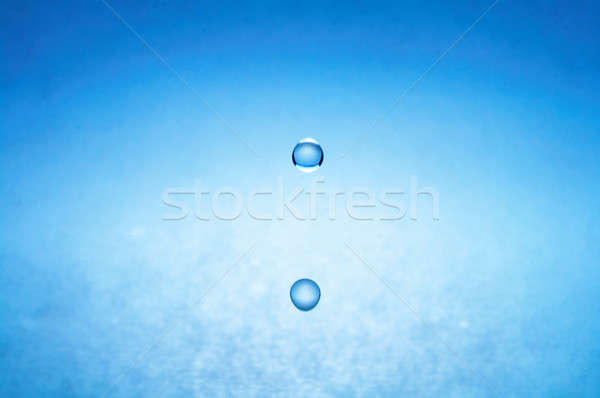 water drop (image 4 of 51, I have all phases of falling drop) Stock photo © 26kot
