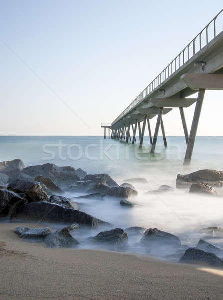 Espanha lugar caminhada mar água nuvens Foto stock © 2Design