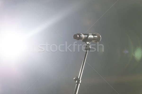 Micro concert salle salle de conférence réunion Photo stock © 2Design