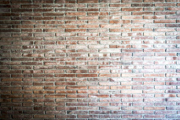 Muur muur textuur oranje stedelijke Rood Stockfoto © 2Design