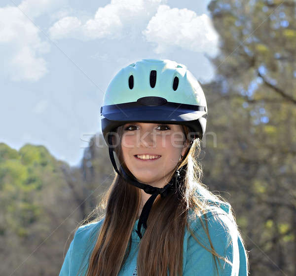 Beautiful Teen Equestrian Stock photo © 2tun