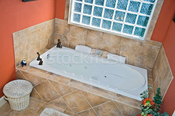 Bathroom Tub Area Stock photo © 2tun