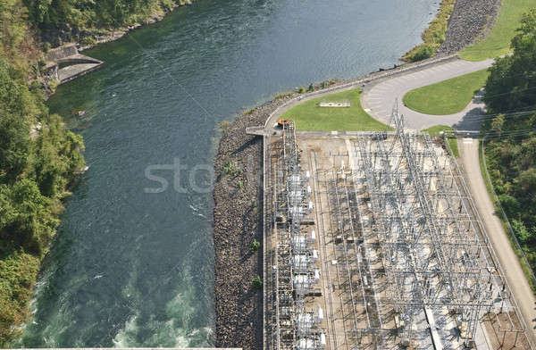 Power Plant and River Stock photo © 2tun