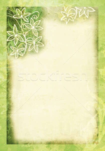 Green Pastel Paper Stock photo © 2tun
