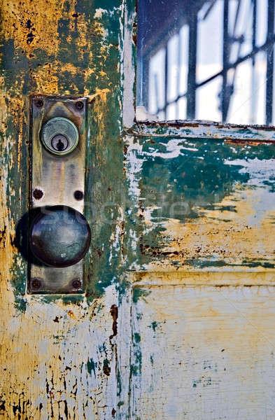 Old Door Knob Stock photo © 2tun