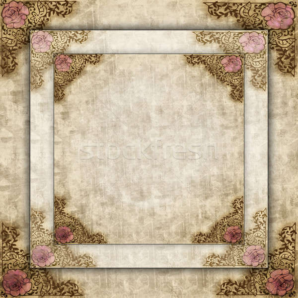 Antique Style Borders Stock photo © 2tun