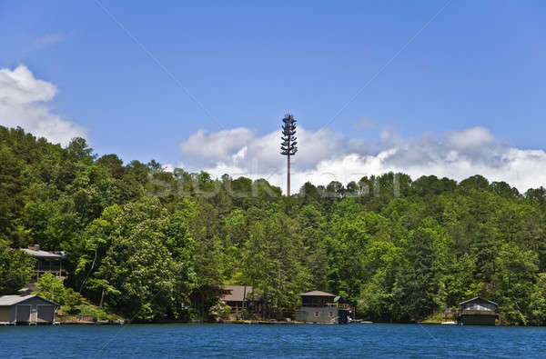 Cell Tower in Landscape Stock photo © 2tun