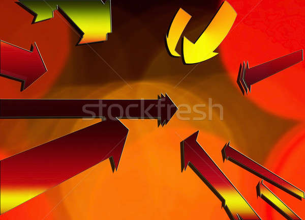 Socializing Arrows Stock photo © 2tun