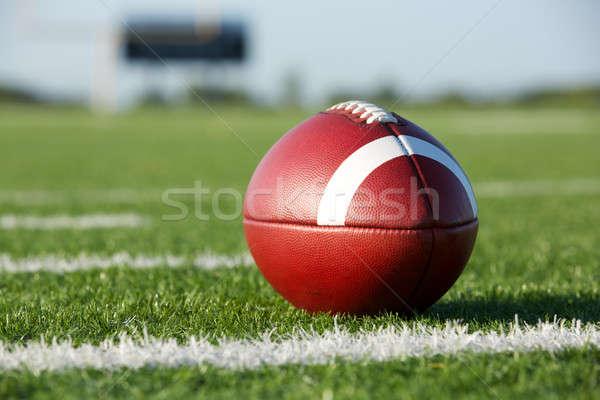 フットボールの競技場 アメリカン スポーツ サッカー 大学 再生 ストックフォト © 33ft
